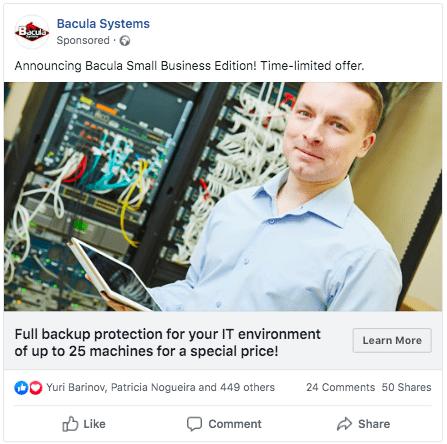 facebook ads for enterprise marketing