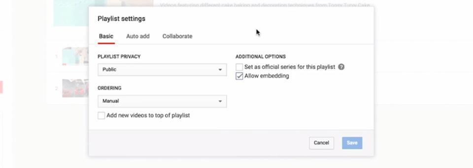 youtube playlist optimization and customization
